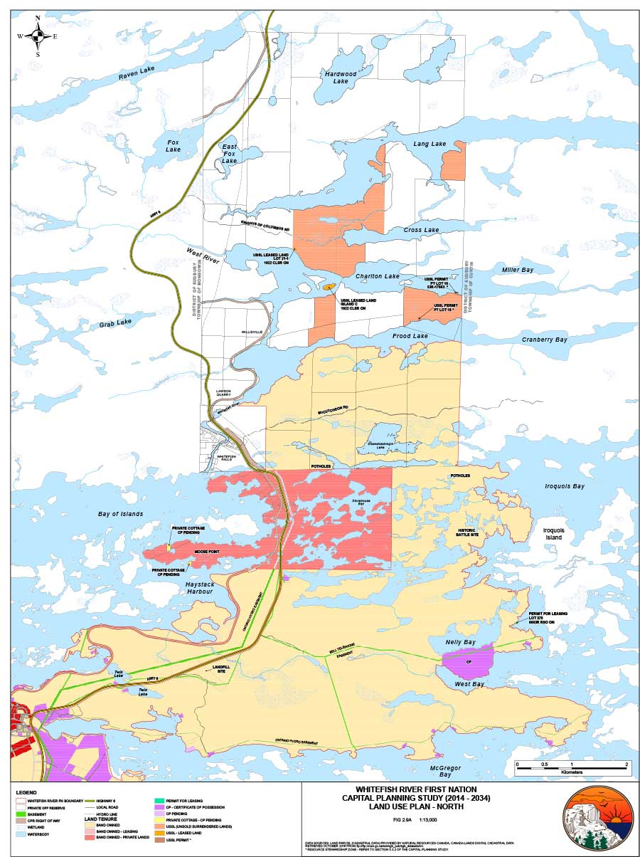 Treaties and Maps - Whitefish River First Nation